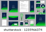 corporate identity set.... | Shutterstock .eps vector #1235966374