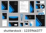 corporate identity set.... | Shutterstock .eps vector #1235966377
