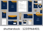 corporate identity set.... | Shutterstock .eps vector #1235966401