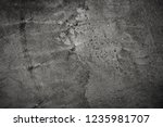 grey textured concrete wall | Shutterstock . vector #1235981707