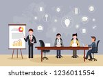 manager businessman lead...   Shutterstock .eps vector #1236011554