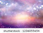 glitter vintage lights... | Shutterstock . vector #1236055654