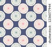 japanese blue grass pollen...   Shutterstock .eps vector #1236077944