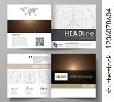 business templates for square... | Shutterstock .eps vector #1236078604