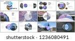 minimal presentations design ... | Shutterstock .eps vector #1236080491