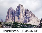 beautiful view of the three... | Shutterstock . vector #1236087481