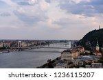 budapest elisabeth bridge | Shutterstock . vector #1236115207