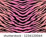 abstract print animal pattern.... | Shutterstock .eps vector #1236120064