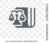 political balance icon....   Shutterstock .eps vector #1236128611
