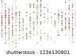 light red  yellow vector ... | Shutterstock .eps vector #1236130801