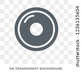 cd icon. cd design concept from ... | Shutterstock .eps vector #1236135604