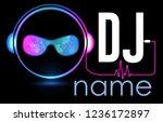 dj logo design. creative vector ...
