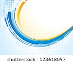 abstract background | Shutterstock .eps vector #123618097