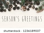 Season's greetings text on...