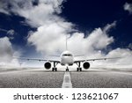 takeoff plane in airport | Shutterstock . vector #123621067