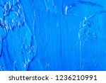 abstract background of blue oil ... | Shutterstock . vector #1236210991