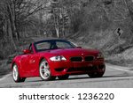 Bmw M Z4 On The Road  Colour...