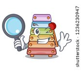 detective toy xylophone on... | Shutterstock .eps vector #1236230947