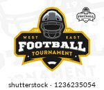 american football tournament... | Shutterstock .eps vector #1236235054