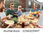 leisure and people concept  ... | Shutterstock . vector #1236325447