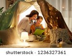 family  hygge and people... | Shutterstock . vector #1236327361
