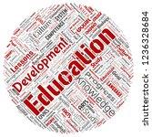vector conceptual education ...   Shutterstock .eps vector #1236328684