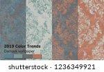 vintage baroque victorian... | Shutterstock .eps vector #1236349921