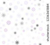 light purple vector seamless...   Shutterstock .eps vector #1236365884