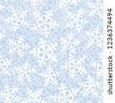 this is a winter seamless... | Shutterstock .eps vector #1236374494