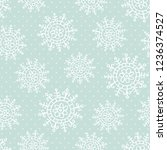 this is a winter seamless... | Shutterstock .eps vector #1236374527