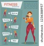 infographic for sport or...   Shutterstock .eps vector #1236388957