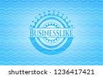 businesslike light blue water... | Shutterstock .eps vector #1236417421