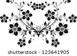 floral background | Shutterstock . vector #123641905