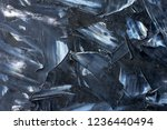 black and white textural... | Shutterstock . vector #1236440494