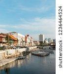 jakarta  indonesia   october 7  ... | Shutterstock . vector #1236464524