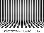 black and white vertical lines... | Shutterstock . vector #1236482167