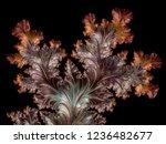 fractal a never ending pattern. ... | Shutterstock . vector #1236482677