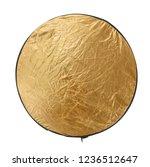 reflector gold light for... | Shutterstock . vector #1236512647