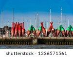 cuxhaven  germany  08 12 2012... | Shutterstock . vector #1236571561