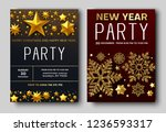 new year party 30th december... | Shutterstock .eps vector #1236593317