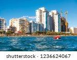 seaside view of limassol... | Shutterstock . vector #1236624067