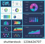 business presentation page... | Shutterstock .eps vector #1236626707