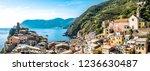 famous old town of corniglia  ...   Shutterstock . vector #1236630487