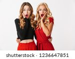 image of shocked young two... | Shutterstock . vector #1236647851
