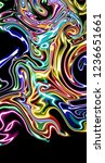 graphic design abstract layout. ... | Shutterstock . vector #1236651661