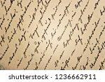 undefined handwritten...   Shutterstock . vector #1236662911