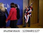 brussels  belgium. 21st nov... | Shutterstock . vector #1236681127