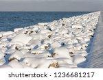 Long Line Of Rocks Along Dutch...