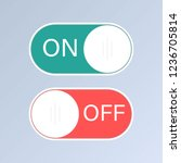 on  off switches.flat icon on...