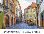 Prague Street In Old Town And ...